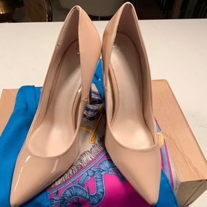 New Nude Asos patent pumps in size UK 7/ US 7.5